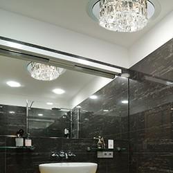 lampy łazienkowe wiszące castorama