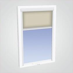 882ba03031f122 Roleta Geom Calliope do okna dachowego Saturn 78 x 118 cm transparentny  beżowy
