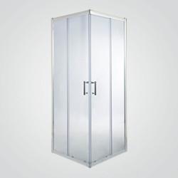 Kabina prysznicowa kwadratowa Cooke&Lewis Onega 70 cm chrom/transparentna