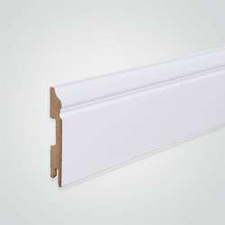 Listwa przypodłogowa MDF Foge LB3 100 biały półmat 200 x 10 x 1,6 cm