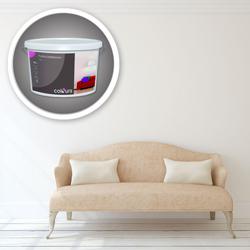 Farba lateksowa Colours Premium biała 10l