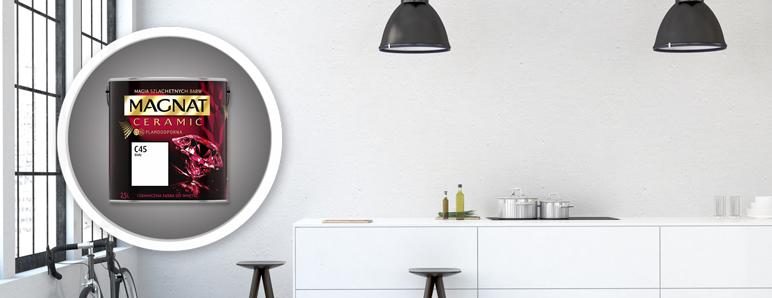 Farba Magnat Ceramic biały 2,5 l