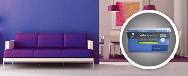Farba Colours Premium głęboki granat 2,5 l