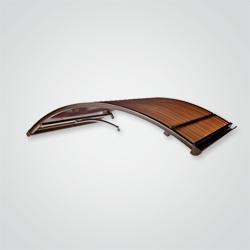 Daszek Plastiking Classic 140 x 90 cm brązowy