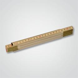 Miara składana Stanley 2 m drewniana