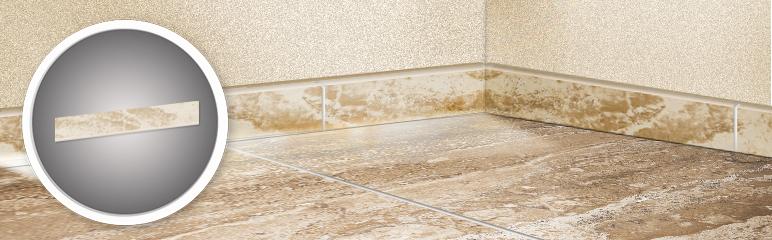 Cokół Paradyż Salotto 7,2 x 45 cm beżowy