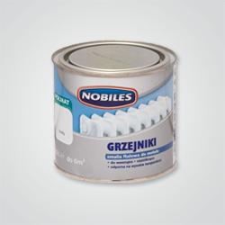 Emalia do grzejników Nobiles biała 0,5 l