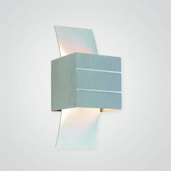 Kinkiet Colours Linum 1 x G9 40 W aluminium