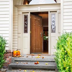 Drzwi wejściowe Splendoor Diana Altera 80 lewe złoty dąb