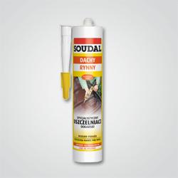 Specjalistyczny uszczelniacz dekarski Soudal 300 ml brązowy