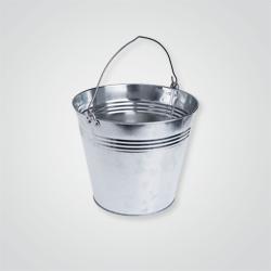 Wiadro metalowe ocynkowane 15 l