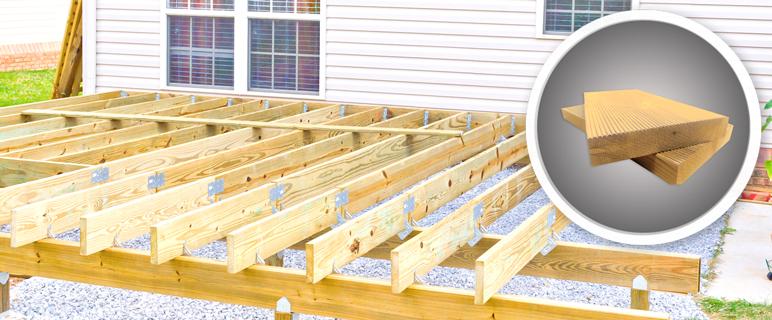 Deska tarasowa sosna thermowana 26 x 142 x 2400 mm