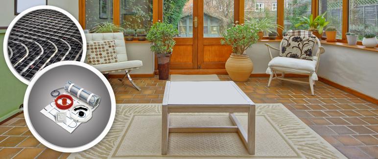Komplet ogrzewania podłogowego Blyss 4 m2 640 W