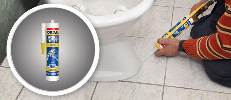 Silikon sanitarny Diall biały 310 ml