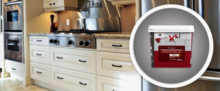 Farba renowacyjna V33 kuchnia & meble kuchenne 0,75 l cynamon