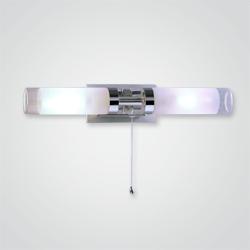 Kinkiet łazienkowy Hook 2 x 40 W E14 IP44 chrom