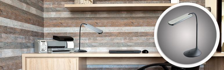 Lampka biurkowa Polux Tulus 5 W LED czarna