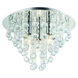 lampy sufitowe kryształowe castorama