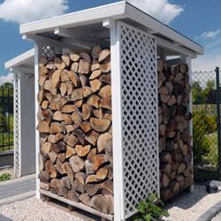 budka zadaszenie dla drewna opałowego