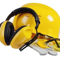 ochronne elementy odzieży, bezpieczeństwo w pracy z drewnem