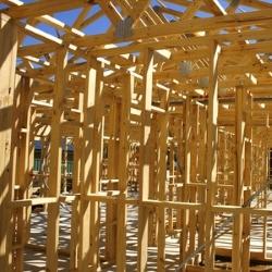 drewniana konstrukcja domu