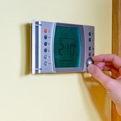 termostat pokojowy, ogrzewanie gazowe, regulacja