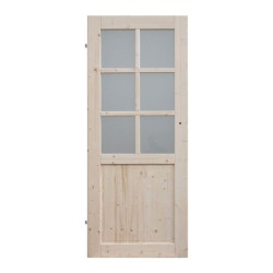 drzwi ze szkłem hartowanym