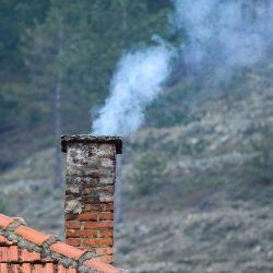 zanieczyszczenia z komina