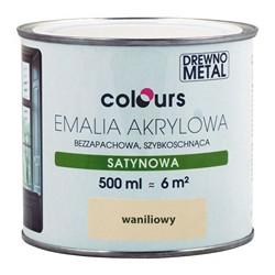 Emalia akrylowa Colours waniliowa 0,5 l