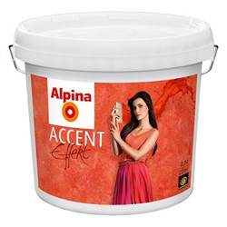 Lazura Alpina Accent Effekt barwiona 2,5 l