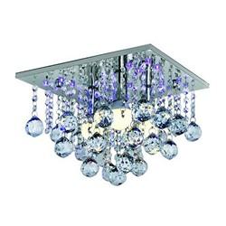 Lampa LED Escada 3 x 40 W E14 chrom