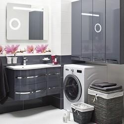 Zestaw mebli łazienkowych Grey szary