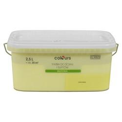 Farba Colours Premium soczysta limonka 2,5 l