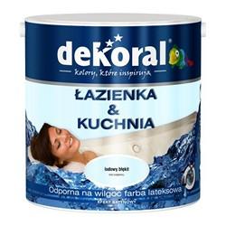 Farba Dekoral Łazienka & Kuchnia lodowy błękit 2,5 l