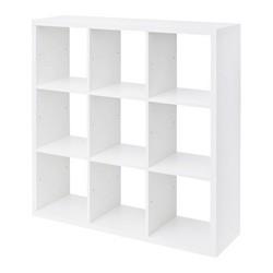 Regał Form Mixxit 9-komorowy 108 x 108 x 33 cm biały