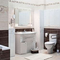 Zestaw mebli łazienkowych Alfa biały