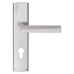 Klamka drzwiowa Verso Miro 72 mm Yale prawa nikiel