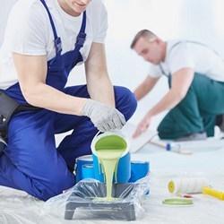 malowanie przy użyciu wałka