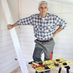 Montaż boazerii za pomocą klamer montażowych