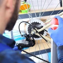 nasmarowywanie roweru