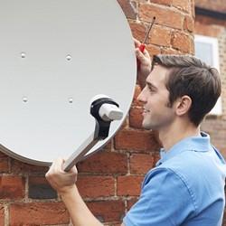 ustawienie anteny