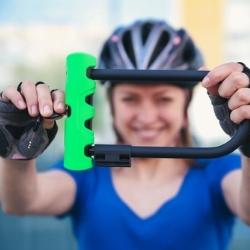 zabezpieczenie do roweru