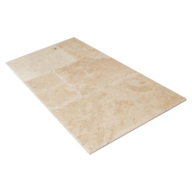 podłoga z kamienia