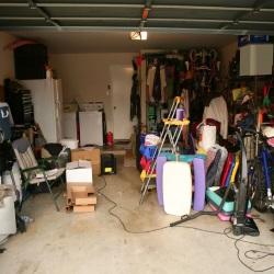 światło w garażu