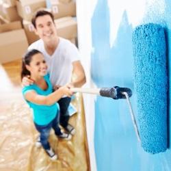 jak wykonać ombre na ścianie