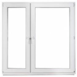 okno PVC rozwierno-uchylne castorama