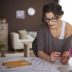 projektowanie biurka, mierzenie, miarka