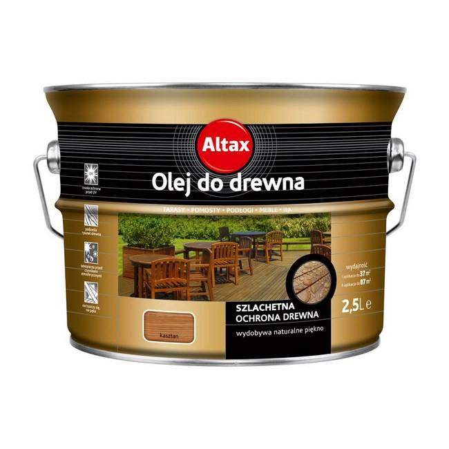 Olej do drewna Altax Altaxin kasztan 2,5 l