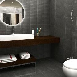 inspiracja łazienka dla mężczyzny