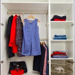 porządek w szafie